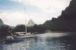 Moorea - everybody makes photo of Cook's Bay