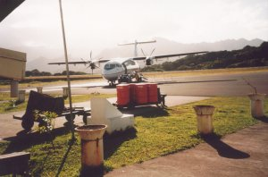 Fortunately we landed on Marquesas