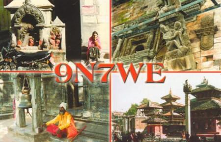 9N7WE in 2003 by SP9FIH